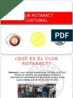 CLUB ROTARACT Presentacion