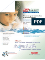 Multi Parameter WaterTesting Systems