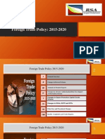 Foreign Trade Policy 2015-2020 by RSA Legal Solutions