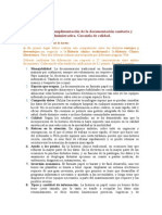 Cumplimentación de la documentación sanitaria y administrativa.DS06 Tarea