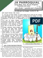Hoja Parroquial Nº 1485 26 abril 2015