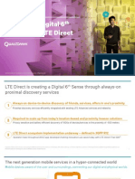 Creating a Digital 6th Sense With Lte Direct
