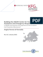 Building the ASEAN Center for Humanitarian Assistance and Emergency Response