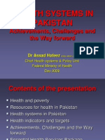 HEALTH Presentation Lahore 3