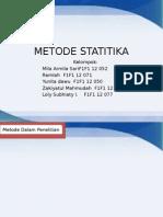 Metode Statitika