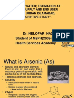 Measurement of Arsenic in Water at Its Source