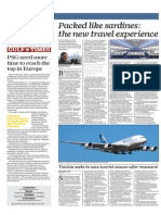 Packed Like Sardines, The New Travel Experience - Gulf Times 23 April 2015