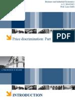 Price Discrimination Part 1