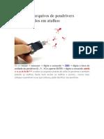 Recuperaração de vírus na pen drive.rtf