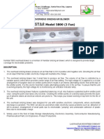 Hanstar 5800 & 5700B Overhead Ionizer Blower