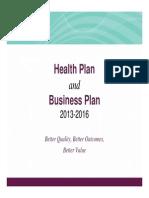 Ahs 2013 16 Health Business Plan Ppt