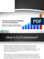 CubeView is a browser based Business Analytical reporting tool OLAP Dashboard