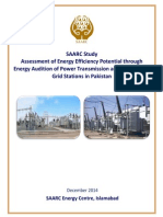 Assessment of Energy Efficiency Potential through Energy Audition of Power Transmission and Distribution Grid Stations in Pakistan