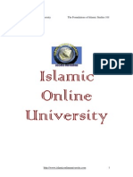 "Foundation of Islamic Study Module 3 (1/5) "" This module contains 5 files"""