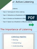 Active Listening Opening Presentation