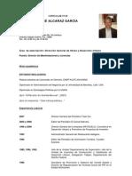 CV José Antonio Alcaraz