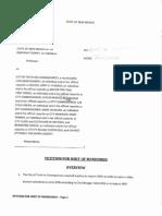 Petition for Writ of Mandamus on Audit Log