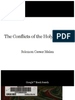 The Conflicts of the Holy Apostles