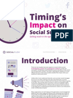 Social Flow - Timing's Impact on Social Success