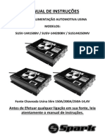 Manual Spark Usina 150A-200A-250A Slim