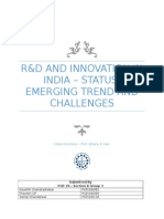 R&D and Innovation in India