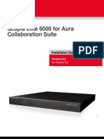 Installation Guide for Scopia Elite 6000 for Aura Collaboration Suite Version 82
