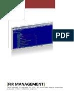 FIR Management