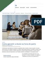 Como Garantir a Doula Na Hora Do Parto _ Vida e Cidadania _ Gazeta Do Povo