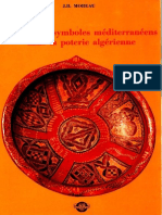 Les grands symboles méditerranéens dans la poterie algérienne, Jean-Bernard Moreau (Alger, SNED 1976)