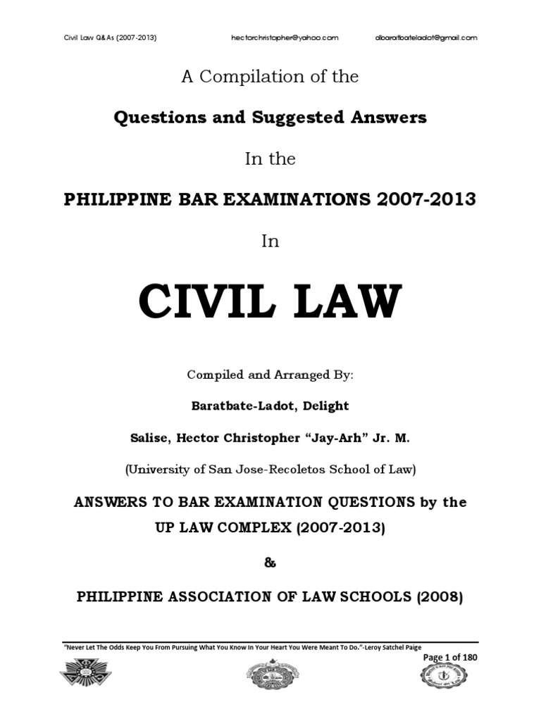 2007 2013 civil law philippine bar examination questions and 2007 2013 civil law philippine bar examination questions and suggested answers jayarhsalsladot annulment will and testament malvernweather Choice Image
