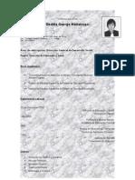 CV de OBDULIA GEORGE MATLALCUATZI