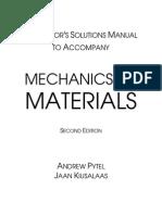 201374352 Pytel Mechanics of Materials 2e Solutions