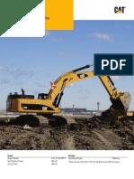 Caterpillar Excavator 349D L