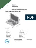 User Guide - Dell E7 Series Laptop