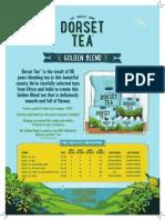 Dorset Tea Trade Presenter