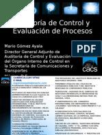 112 - Auditoria de Control y Eval Proces - MGomez