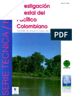 Investigacion Forestal en El Pacifico Colombiano Inderena 1996