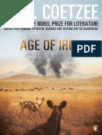 Coetzee, J. M. - Age of Iron