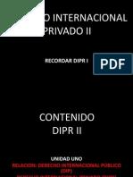 Derecho Internacional Privado II