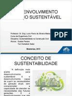 Sustentabilidade - conceitos
