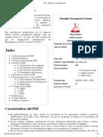 PDF - Wikipedia, La Enciclopedia Libre