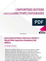 WORLD IMPORTERS BUYERS LIST DIRECTORY DATABASE.pdf