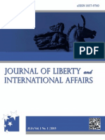 Journal of Liberty and International Affairs | Vol. 1, No. 1 | 2015