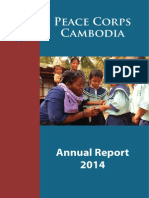 Peace Corps In Country Cambodia Annual Report 2014