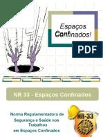 NR33 - Treinamento