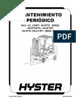 Mantenimiento Periodico Horquilla