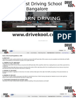 Drivekool, Learn Road Traffic Signs & Signals in Driving Schools