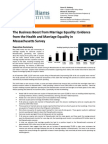 The Business Impact of Opening Marriage to Same-sex Couples