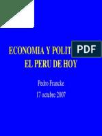 Economia Peru 2007