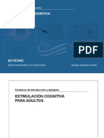 Cuaderno de Estimulación Cognitiva ADULTOS